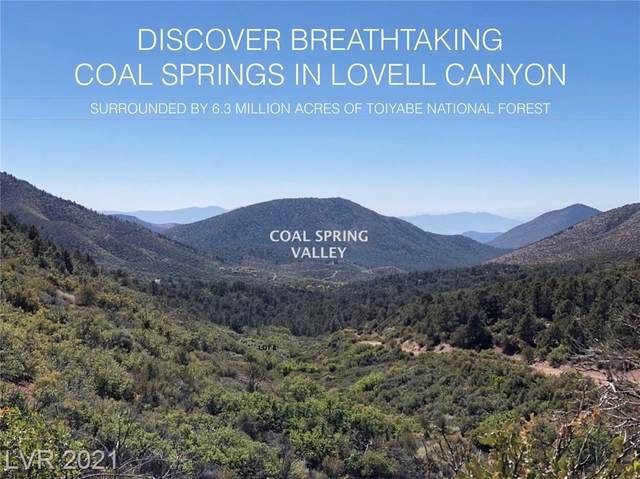 Lovell Canyon Summit-8, Las Vegas, NV 89124 (MLS #2319698) :: Lindstrom Radcliffe Group