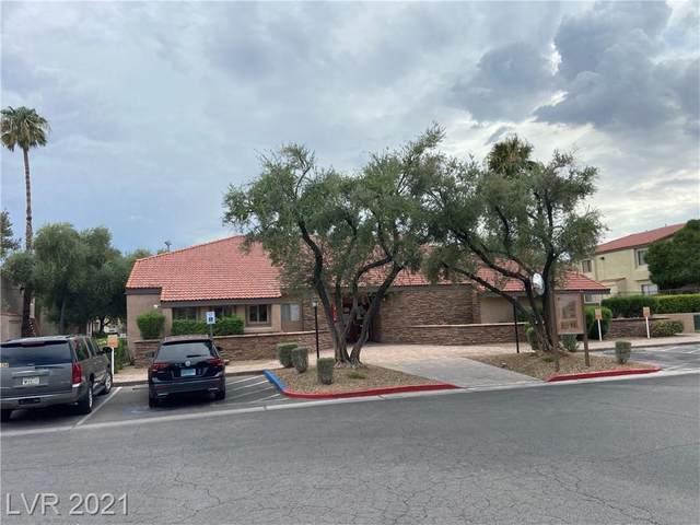 1455 E Katie Avenue G27, Las Vegas, NV 89119 (MLS #2319703) :: Lindstrom Radcliffe Group