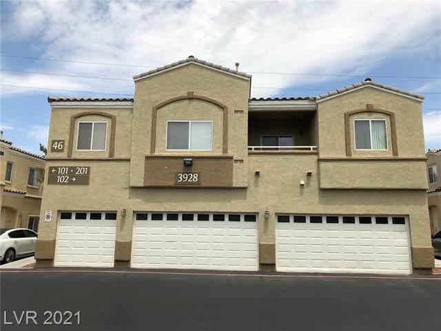 3928 Smokey Fog Avenue #2, North Las Vegas, NV 89081 (MLS #2319730) :: ERA Brokers Consolidated / Sherman Group