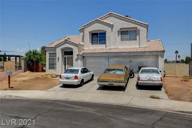 6300 Mint Frost Way, Las Vegas, NV 89108 (MLS #2320008) :: Lindstrom Radcliffe Group