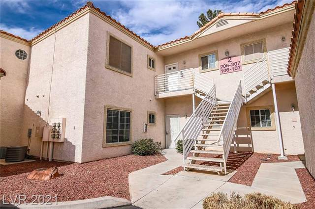 1900 N Torrey Pines Drive #106, Las Vegas, NV 89108 (MLS #2320105) :: Keller Williams Realty