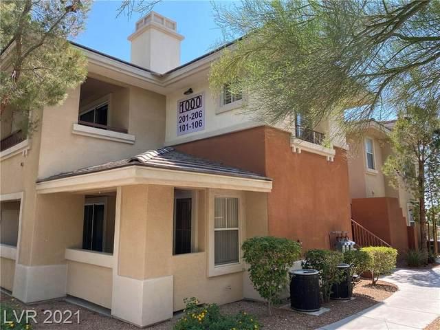 1000 Duckhorn Court #102, Las Vegas, NV 89144 (MLS #2320124) :: Kypreos Team