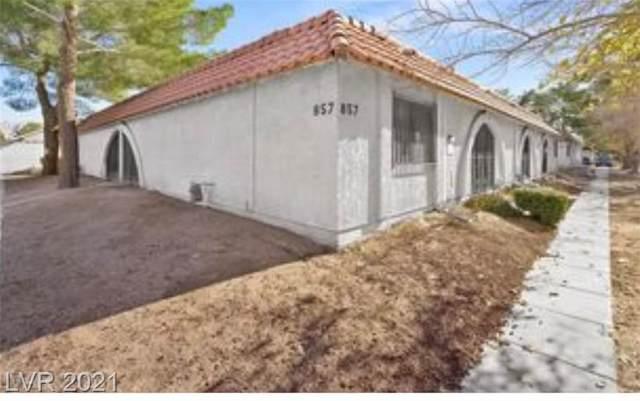 857 Mantis Way #5, Las Vegas, NV 89110 (MLS #2320662) :: Hebert Group | Realty One Group