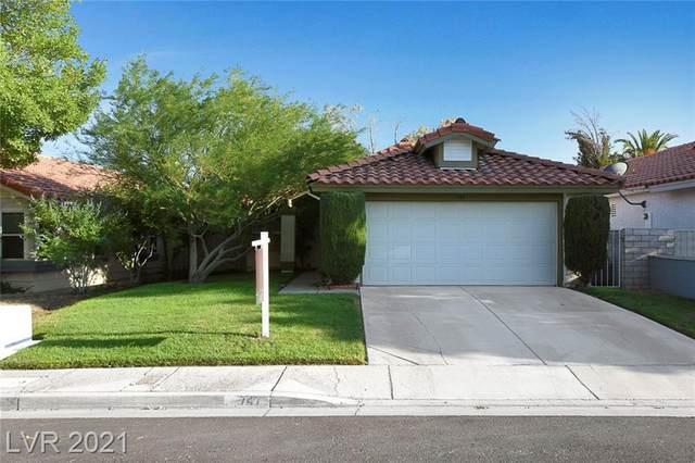 747 Thousand Oaks Drive, Las Vegas, NV 89123 (MLS #2320860) :: Keller Williams Realty