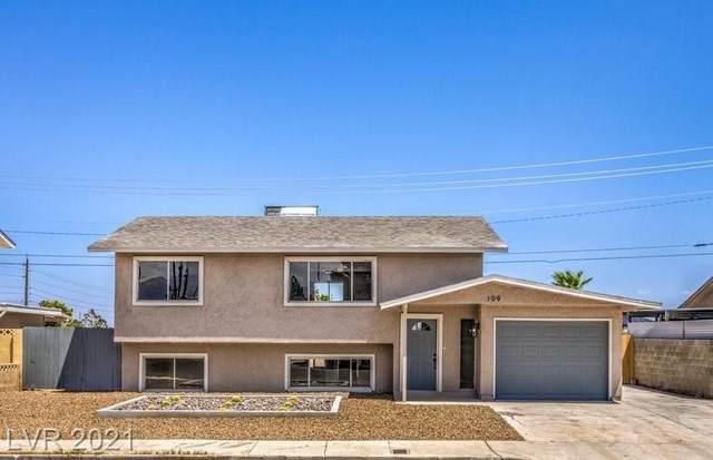 109 Sam Jonas Drive, Las Vegas, NV 89145 (MLS #2321063) :: Lindstrom Radcliffe Group
