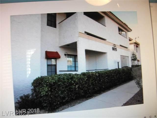 6615 W Tropicana Avenue #101, Las Vegas, NV 89103 (MLS #2321244) :: The TR Team