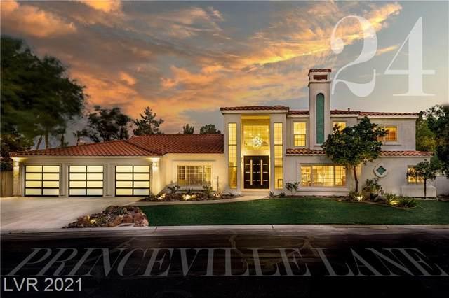 24 Princeville Lane, Las Vegas, NV 89113 (MLS #2322276) :: Lindstrom Radcliffe Group