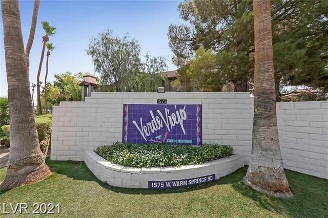 1575 W Warm Springs Road #1521, Henderson, NV 89014 (MLS #2323207) :: The Melvin Team