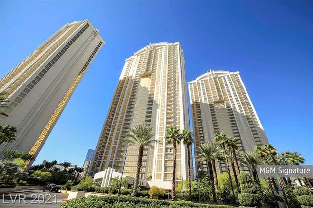 125 E Harmon Avenue #1911, Las Vegas, NV 89109 (MLS #2324136) :: Galindo Group Real Estate