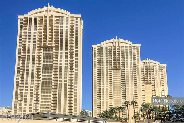 135 E Harmon Avenue #2814, Las Vegas, NV 89109 (MLS #2324837) :: Team Michele Dugan