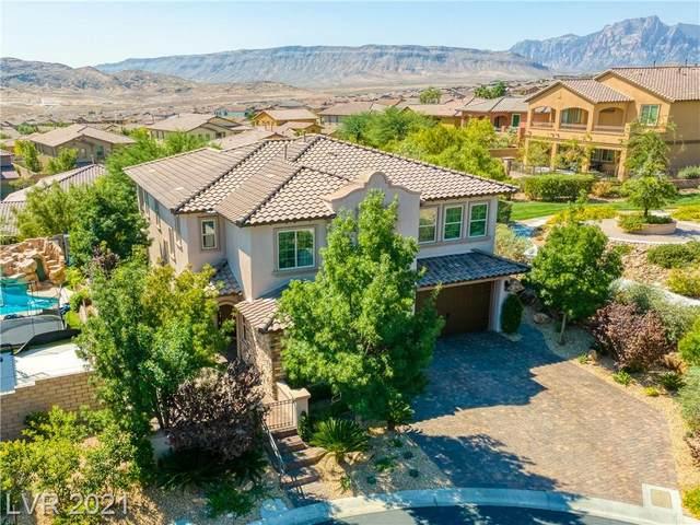 12135 Highland Vista Way, Las Vegas, NV 89138 (MLS #2324951) :: Hebert Group | eXp Realty