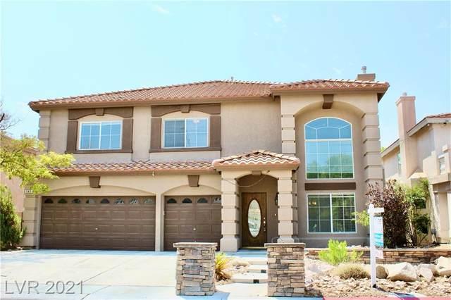 545 Campus Oaks Court, Las Vegas, NV 89183 (MLS #2324966) :: Lindstrom Radcliffe Group
