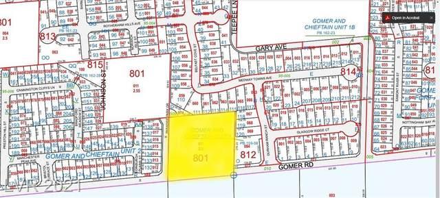 Gomer Road, Las Vegas, NV 89124 (MLS #2325142) :: Hebert Group   eXp Realty
