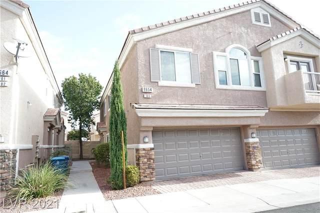 8654 Traveling Breeze Avenue #103, Las Vegas, NV 89178 (MLS #2325372) :: The Melvin Team