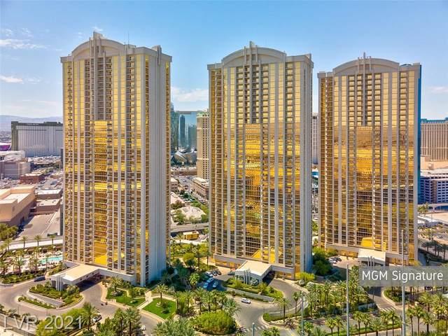 135 E Harmon Avenue 3802/3804, Las Vegas, NV 89109 (MLS #2325557) :: Jeffrey Sabel