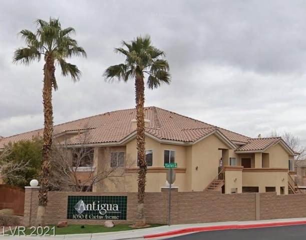 1050 E Cactus Avenue #2050, Las Vegas, NV 89183 (MLS #2325769) :: Signature Real Estate Group