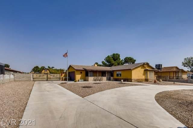 4706 Valley Drive, North Las Vegas, NV 89031 (MLS #2326012) :: Lindstrom Radcliffe Group