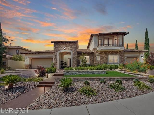 213 Piazza Del Verano Street, Las Vegas, NV 89138 (MLS #2326021) :: Jeffrey Sabel
