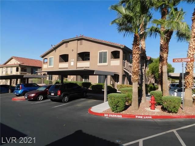 3540 Cactus Shadow Street #101, Las Vegas, NV 89129 (MLS #2326092) :: Custom Fit Real Estate Group