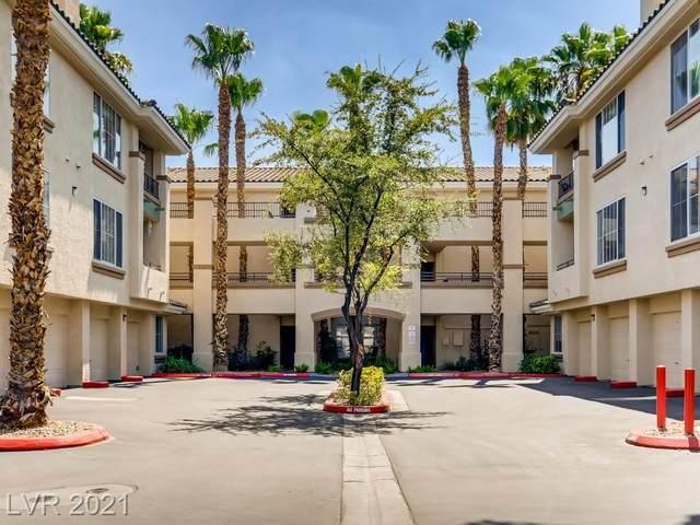 7111 S Durango Drive #106, Las Vegas, NV 89113 (MLS #2326120) :: Lindstrom Radcliffe Group