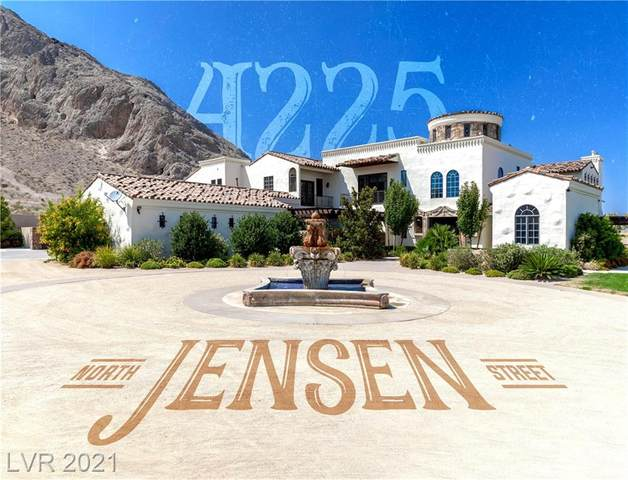 4225 N Jensen Street, Las Vegas, NV 89129 (MLS #2326154) :: Team Michele Dugan