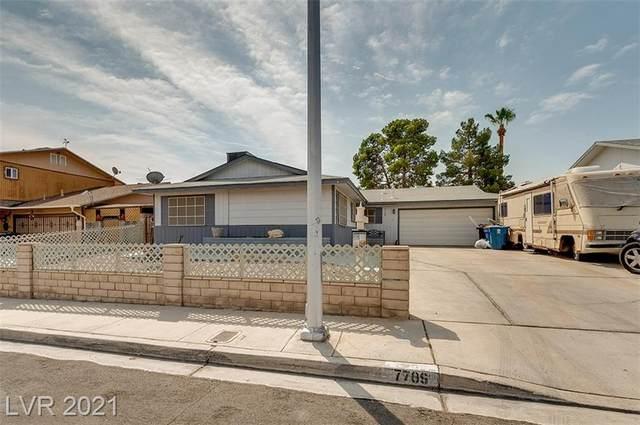 7709 Genzer Drive, Las Vegas, NV 89145 (MLS #2326762) :: Lindstrom Radcliffe Group