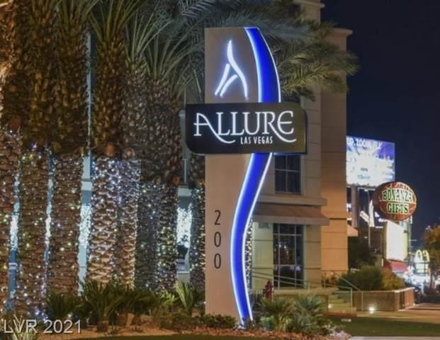 200 W Sahara Avenue #1504, Las Vegas, NV 89102 (MLS #2327055) :: The Perna Group