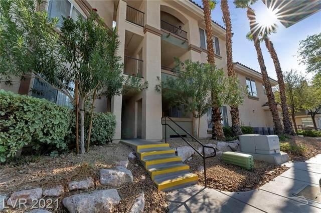 7115 S Durango Drive #113, Las Vegas, NV 89113 (MLS #2327121) :: Lindstrom Radcliffe Group
