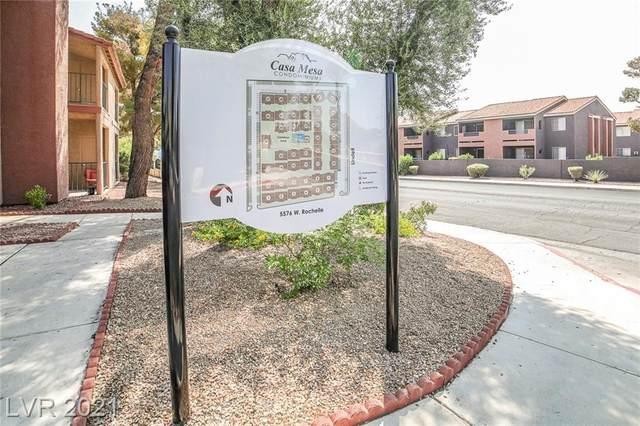5576 W Rochelle Avenue 34C, Las Vegas, NV 89103 (MLS #2327212) :: Lindstrom Radcliffe Group