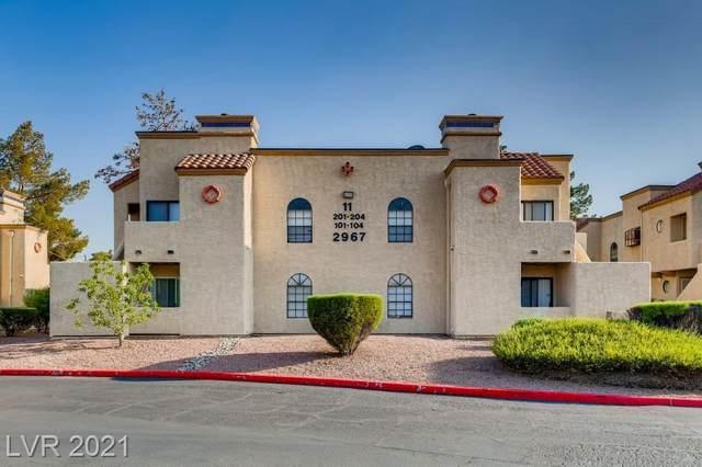 2967 Juniper Hills Boulevard #104, Las Vegas, NV 89142 (MLS #2327352) :: The TR Team