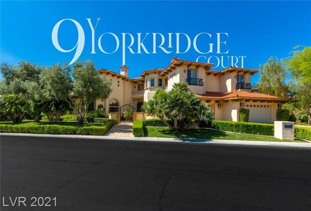 9 Yorkridge Court, Henderson, NV 89052 (MLS #2327696) :: Keller Williams Realty
