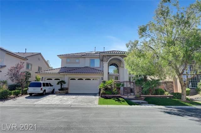 10649 San Sicily Street, Las Vegas, NV 89141 (MLS #2327726) :: The Melvin Team