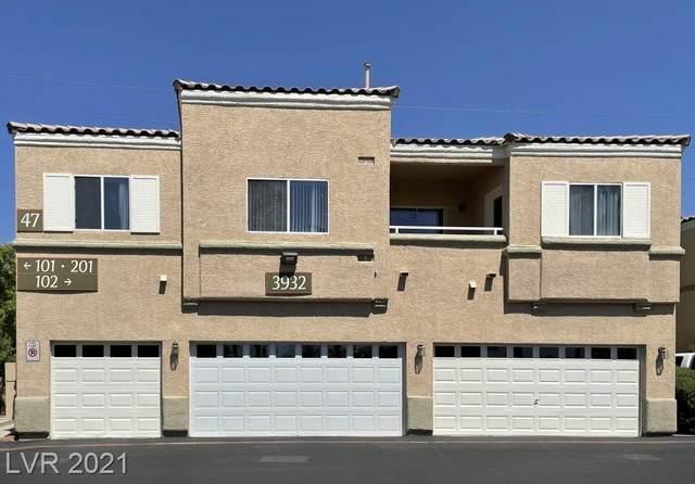 3932 Smokey Fog Avenue #201, North Las Vegas, NV 89081 (MLS #2327977) :: Signature Real Estate Group