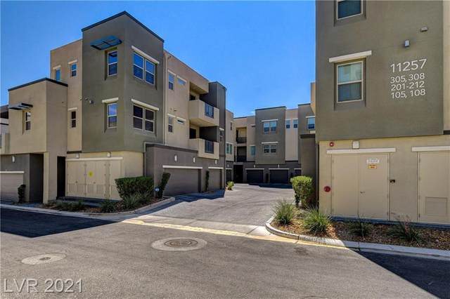 11257 Rainbow Peak Avenue #308, Las Vegas, NV 89135 (MLS #2328015) :: DT Real Estate