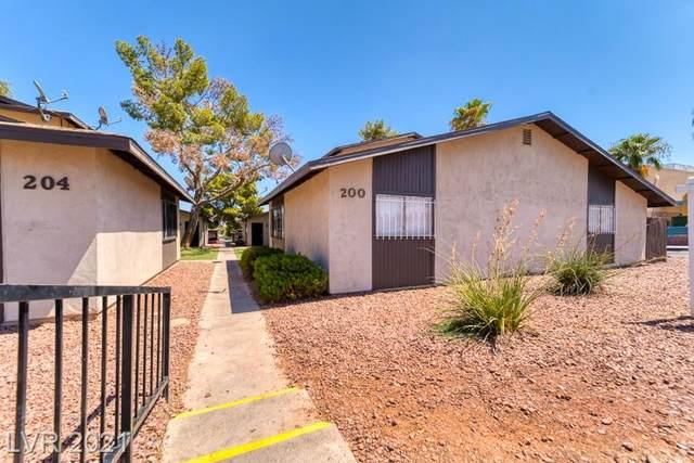 200 N Bruce Street A, Las Vegas, NV 89101 (MLS #2328137) :: Galindo Group Real Estate