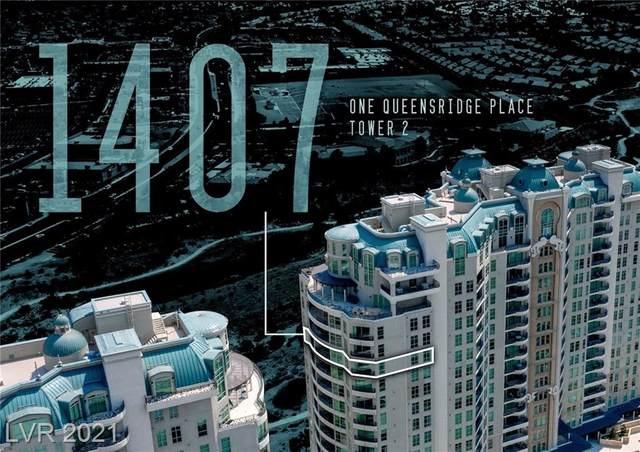 9103 Alta Drive #1407, Las Vegas, NV 89145 (MLS #2328851) :: The TR Team