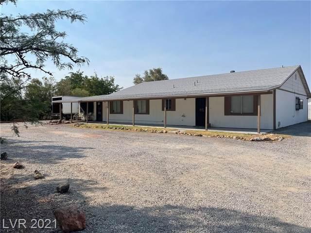 1420 Horn Road, Pahrump, NV 89048 (MLS #2328860) :: Jeffrey Sabel