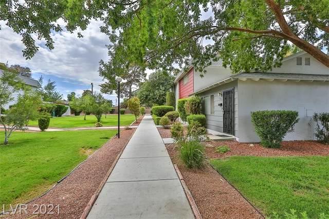 117 Greenbriar Townhouse Way, Las Vegas, NV 89121 (MLS #2329058) :: Custom Fit Real Estate Group
