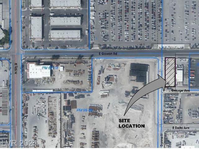 E Gowan Rd & N 5th, North Las Vegas, NV 89032 (MLS #2329069) :: Hebert Group   eXp Realty