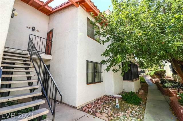1701 E Katie Avenue #70, Las Vegas, NV 89119 (MLS #2329498) :: Keller Williams Realty