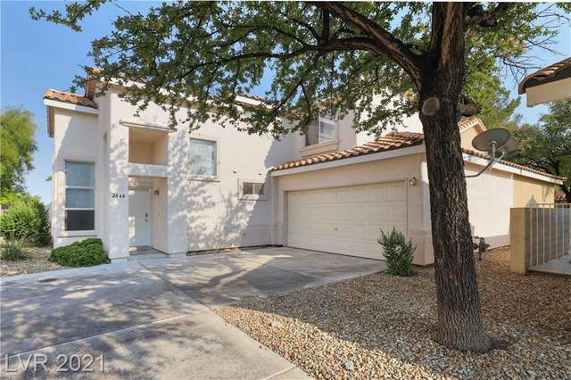 2444 Cliffwood Drive, Henderson, NV 89074 (MLS #2329536) :: Lindstrom Radcliffe Group