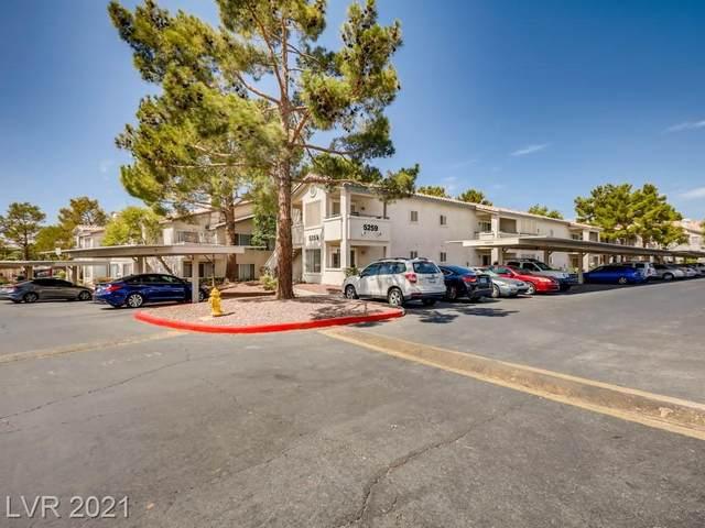 5259 Caspian Springs Drive #104, Las Vegas, NV 89120 (MLS #2329629) :: Alexander-Branson Team | Realty One Group