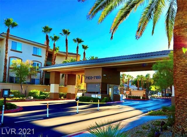 7107 S Durango Drive #112, Las Vegas, NV 89113 (MLS #2329755) :: Lindstrom Radcliffe Group