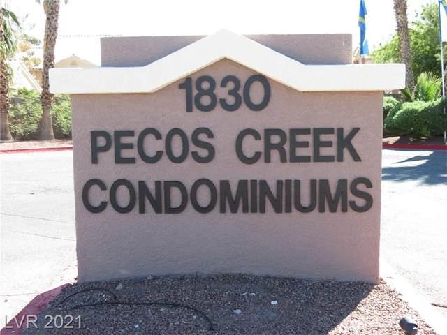 1830 N Pecos Road #155, Las Vegas, NV 89115 (MLS #2329775) :: The TR Team