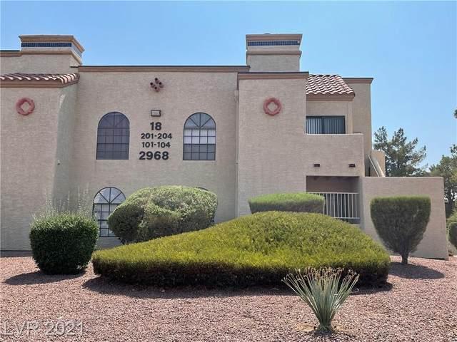 2968 Juniper Hills Boulevard #104, Las Vegas, NV 89142 (MLS #2330372) :: Jack Greenberg Group