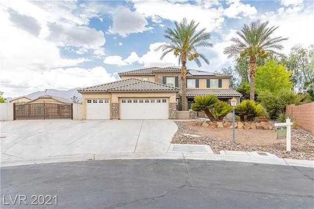 8570 Harwick Ranch Court, Las Vegas, NV 89131 (MLS #2330558) :: Signature Real Estate Group