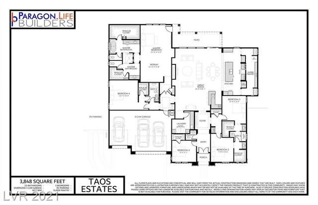 7024 Rio Grande Gorge Court, Las Vegas, NV 89130 (MLS #2330718) :: Hebert Group | eXp Realty