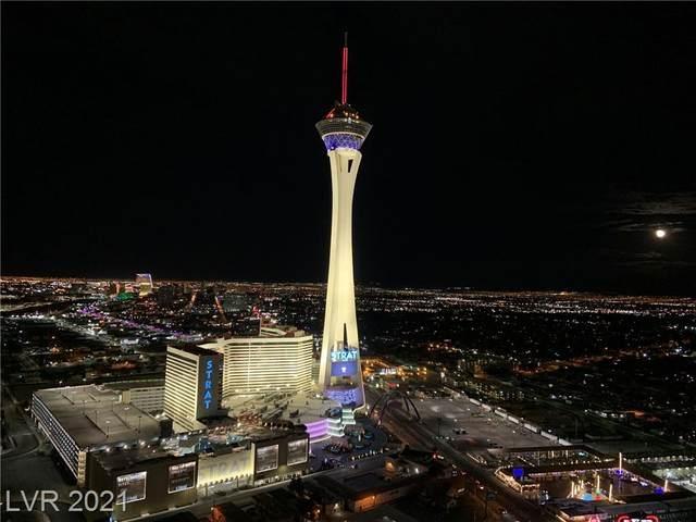 200 W Sahara Avenue #3809, Las Vegas, NV 89102 (MLS #2331024) :: The TR Team