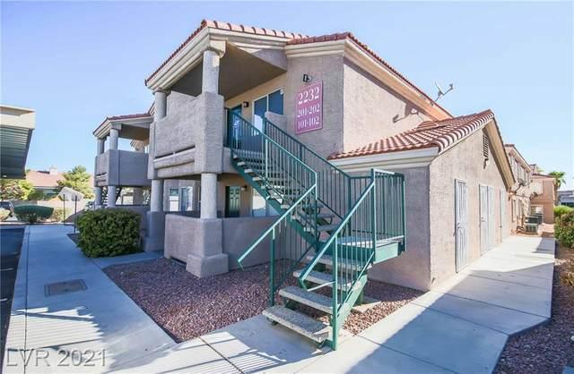 2232 Benmore Street #101, Las Vegas, NV 89108 (MLS #2331086) :: The Melvin Team