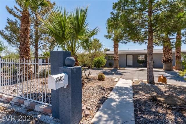 1801 Ophir Drive, Las Vegas, NV 89106 (MLS #2331101) :: Lindstrom Radcliffe Group
